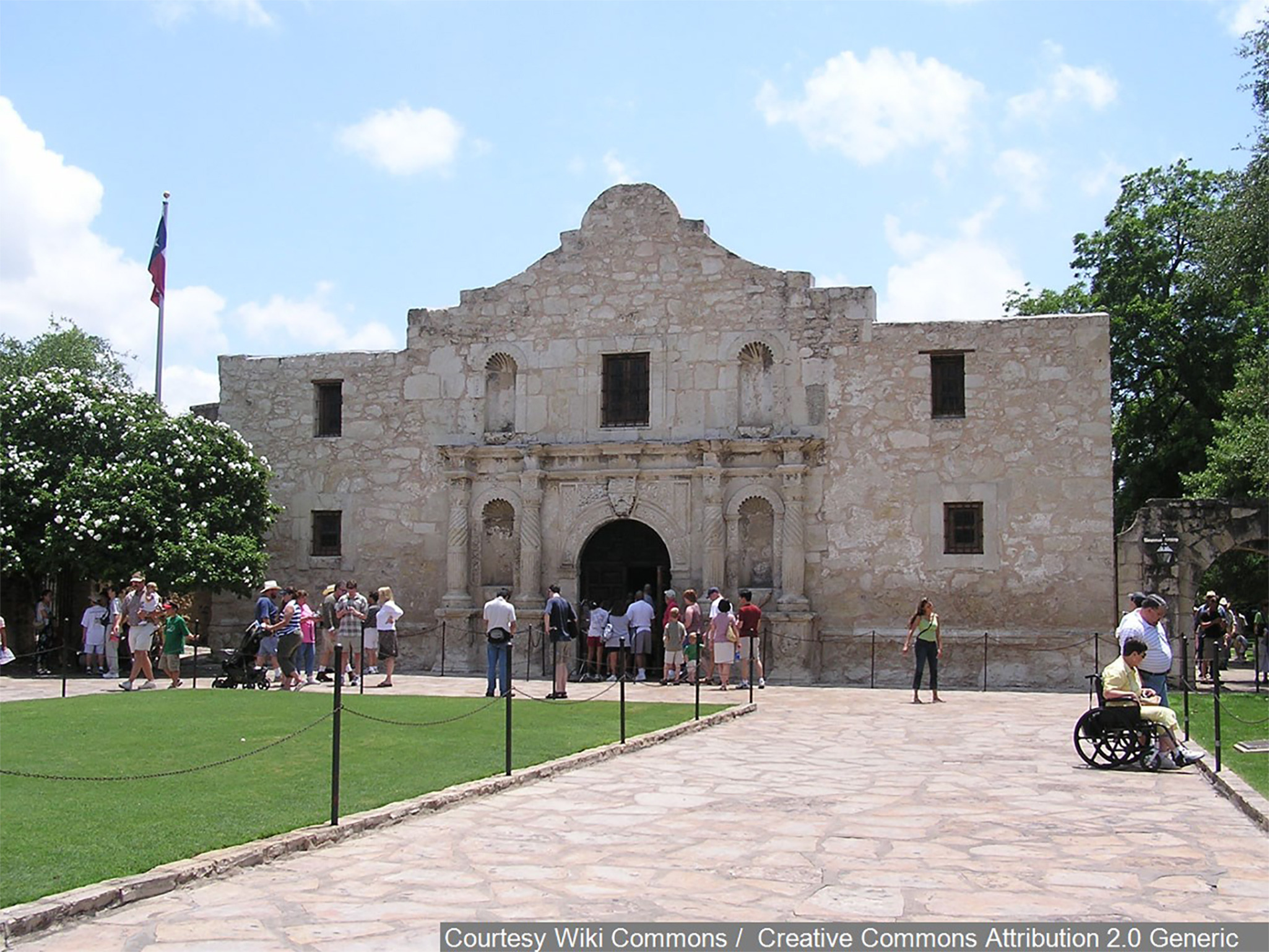 Ceremony Celebrates Alamo As Texas First World Heritage