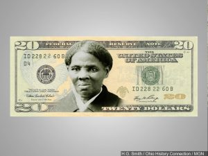 Harriet Tubman on $20 bill
