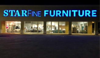 AS DICKINSON REBUILDS STARFINE FURNITURE MOVES UP!