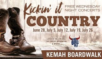 KICKIN' IT COUNTRY RETURNS TO THE KEMAH BOARDWALK