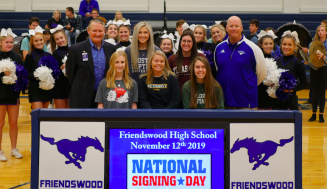 Friendswood High School Signing Day