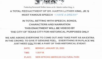 LM, TC to hold MLK Day events